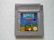 RESCUE OF THE PRINCESS BLOBETTE * NINTENDO GAMEBOY GAME COLOR ADVANCE SP