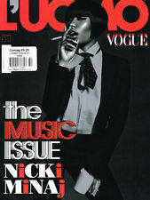 October L'uomo Vogue Monthly Magazines for Men