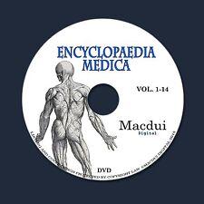Encyclopaedia Medica 1899 PDF 14 E-Books DVD Sciatica Pregnancy Hernia Liver