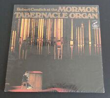 ROBERT CUNDICK At The MORMON TABERNACLE ORGAN Vinyl LP Limited Ed NEW Sealed