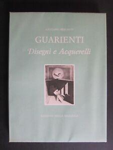 GIULIANO BRIGANTI - GUARIENTI DISEGNI ACQUERELLI - PATANI - 1984 ED. SEGGIOLA