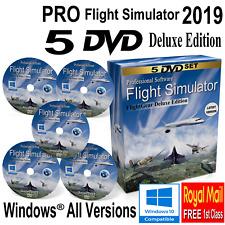 Flight Simulator Professional Flightgear Deluxe Sim For Windows 10, 8, 7 PCs