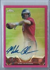 2013 TOPPS CHROME MIKE GLENNON RC PINK REFRACTOR AUTO CARDINALS #47 /75