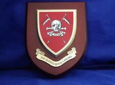 QUEEN'S ROYAL LANCERS ( QRL ) WALL / MESS SHIELD / PLAQUE