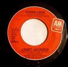 Janet Jackson 45 Young Love / The Magic Is Working