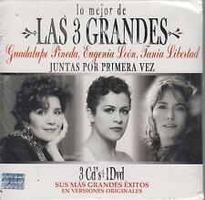 CD - Lo Mejor De Las 3 Grandes NEW Primera Vez 3 CD's & 1 DVD FAST SHIPPING!