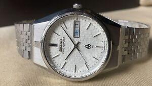 Vintage SEIKO Quartz Watch/ KING QUARTZ 0853-8035 SS 1976