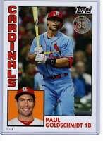 Paul Goldschmidt 2019 Topps Update 1984 Topps 5x7 #84-41 /49 Cardinals