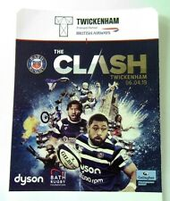 Rugby Union Tickets - Bath v Bristol Twickenham 06/04/19 Ticket Stub Memorabilia