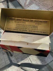 RARE BROMFORD MESH BOXED GOLF BALL, CIRCA 1920's, ANTIQUE, COLLECTABLE.