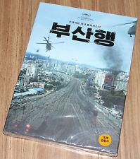 TRAIN TO BUSAN / Gong Yoo / GONGYOO / KOREA 2 DISC DVD SEALED