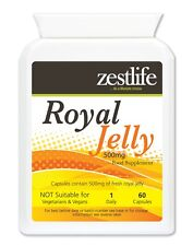 Zestlife Royal Jelly 500mg 60 soft gel capsules