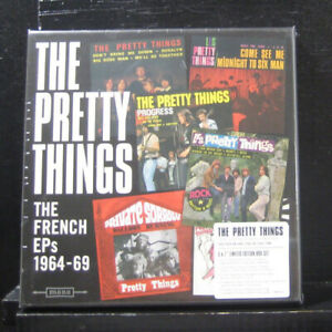 "The Pretty Things : French EPs: 1964-69 VINYL 12"" Album Box Set 5 discs (2017)"