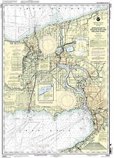 NOAA Chart Approaches to Nigara River and Welland Canal 32nd Edition 14822