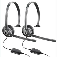 Plantronics M214C (2-Pack) Over the Head Headset
