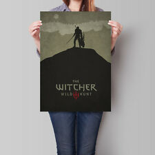 Witcher 3 Poster The Witcher 3 Wild Hunt Game Art 16.6 x 23.4 in (A2)