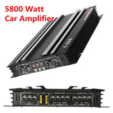 5800W RMS 4/3/2 Channel Powerful For Auto Car Audio Stereo Amplifier Amp 4Ohm