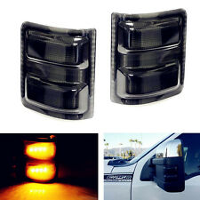 For 08-16 Ford F250 Super Duty OE Style SIDE MIRROR Smoke LED TURN SIGNAL Lights
