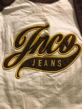 True Vintage 90s JNCO Jeans Embroidered MEDIUM Short Sleeve Cotton T-Shirt