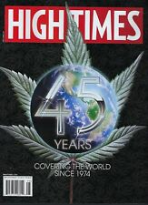 High Times Magazine 45 Years of Covering the World  2019