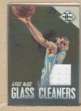 JaVale McGee 8 2012-13 Panini Limited Glass Cleaners Jersey 77/99