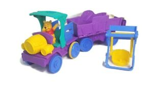 Vintage Winnie the Pooh Traveling Adventure Playset Honey Picnic Truck Playset