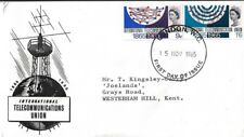 GB 1965 I.T.U. ORDINARY FDC, TYPED ADDRESS WITH LONDON W.C. FDI