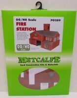 Metcalfe PO289 - Fire Station                      (OO Gauge)     Railway Model