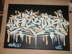 Graffiti Urban Street Art Canvas By Aroma One