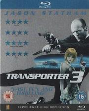 Transporter 3  UK SteelBook, Region Free