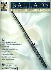 12 Pop Balladen Play-Along Noten CD Querflöte Flute