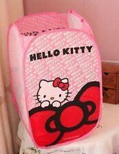 Cute Hello Kitty Foldable Laundry Toys Basket Tidy Clothes Socks Storage 1pcs
