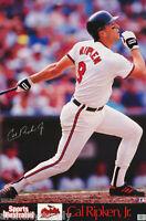 POSTER : MLB BASEBALL: CAL RIPKEN , JR - BALTIMORE ORIOLES  - #7567  RC35 E