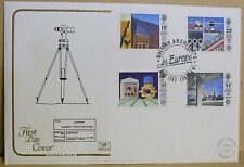 1987 Cotswold GB First Day Cover with Special Postmark -  Modern Architecture