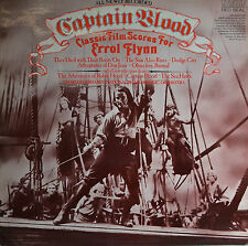 "CAPTAIN BLOOD - ERROL FLYNN  12""  LP  (Q168)"