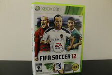 FIFA Soccer 12  (Xbox 360, 2011) *Tested / Complete