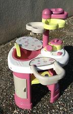 Table nursery pour poupée baignoire coin repas coeur table à langer placards…