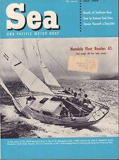 Sea July 1959 Honolulu Fleet, Tiare, Daysailer w/ML 050617nonDBE