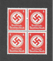 PF08   Third Reich symbol WWII Germany  MNH postage stamp BLOCK 1942 Third Reich