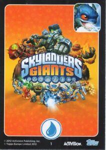 Skylander Giants Trading Cards - Original Characters 1- 32