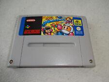 Super Bomberman snes super nintendo juego sólo el módulo