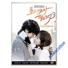 """BUY 5 GET 1 FREE""  I Need Romance 3 Korean Drama (4DVD) Excellent English."