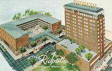 LAM(B) Spokane, WA - The Ridpath Hotel and Motor Inn - Bird's Eye View