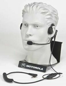 OEM Motorola PMLN5011A Headset Behind The Head One Ear Black FREE FAST SHIP
