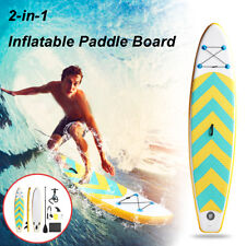118'' Stand Up Paddle Board SUP Inflatable Paddleboard Kayak Surf Board Pump Bag