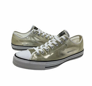 Converse All Star Clear Transparent Chuck Taylor Sneakers Mens 10 Womens 12