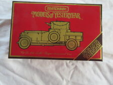 MATCHBOX MODELS OF YESTERYEAR YS 38 1920 ROLLS ROYCE ARMOURED CAR