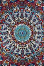 3D Glow in the Dark Sunburst Tapestry Beach Sheet Wall Hang Throw 60x90 inches