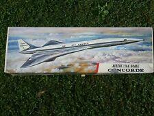 Airfix BAC Aerospatiale Concorde Concord 1:144 Scale Plastic Aircraft Model Kit