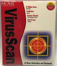 McAfee Security VirusScan Windows ME and 2000 New Sealed NOS Format CD Brand New